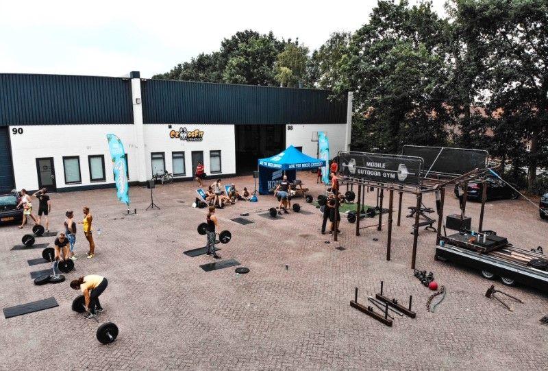Special Outdoor Crossfit Training met MOBILE OUTDOOR GYM