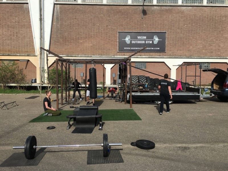 Mobile Outdoor Gym Contact
